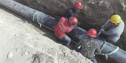 宁夏PE管材给水管生产应用